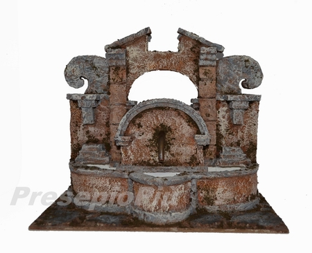 Fontana Per Il Presepe.Scenografie Fontane Su Presepiopiu It