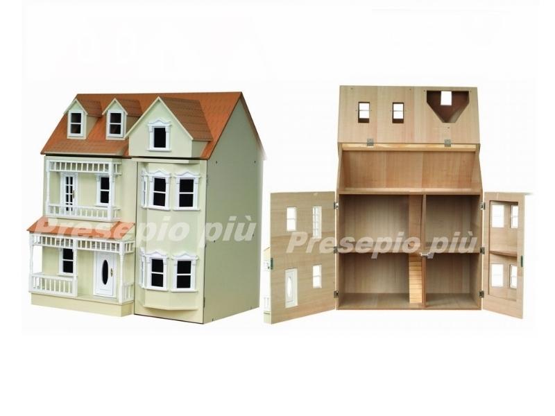 Illuminazione Casa Delle Bambole : Casa delle bambole case su presepiopiu
