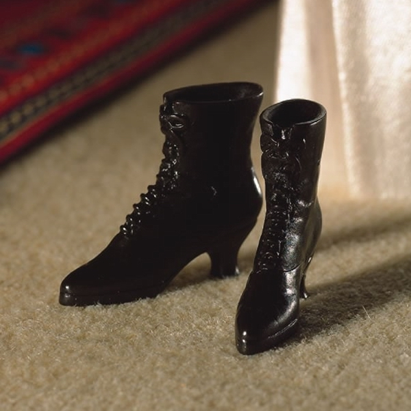 migliori scarpe da ginnastica 98ba6 866be Stivaletti vittoriani neri su Presepiopiu.it